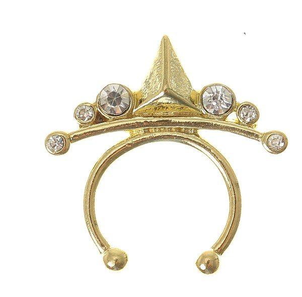 Claire's septum piercing oro