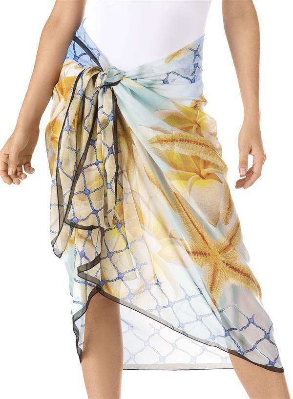 Pareo foulard Sea Star, Parah – 70€