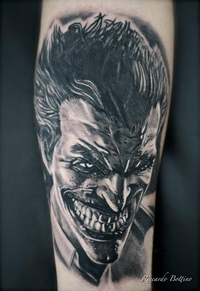 Comics – Riccardo Bottino (Immagine tratta da Milano Tattoo Convention 2016)