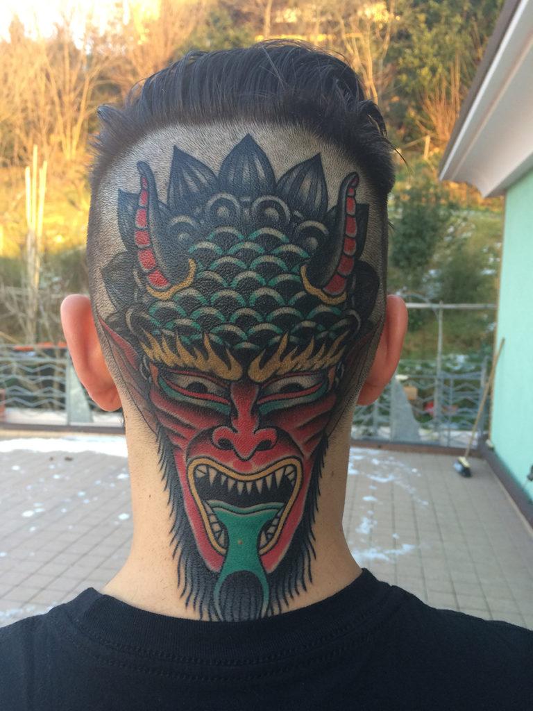 Tradizione cinese – Tups (Immagine tratta da Milano Tattoo Convention 2016)