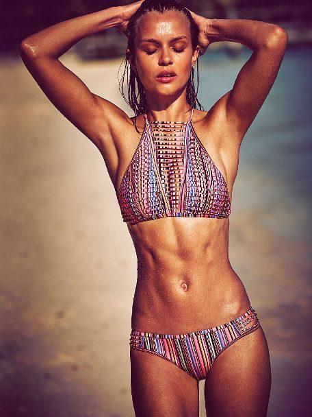 Victoria's Secret Strappy High-neck top