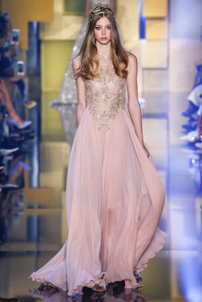 Abito haute Couture Elie Saab.
