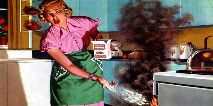 Donne che non sanno cucinare