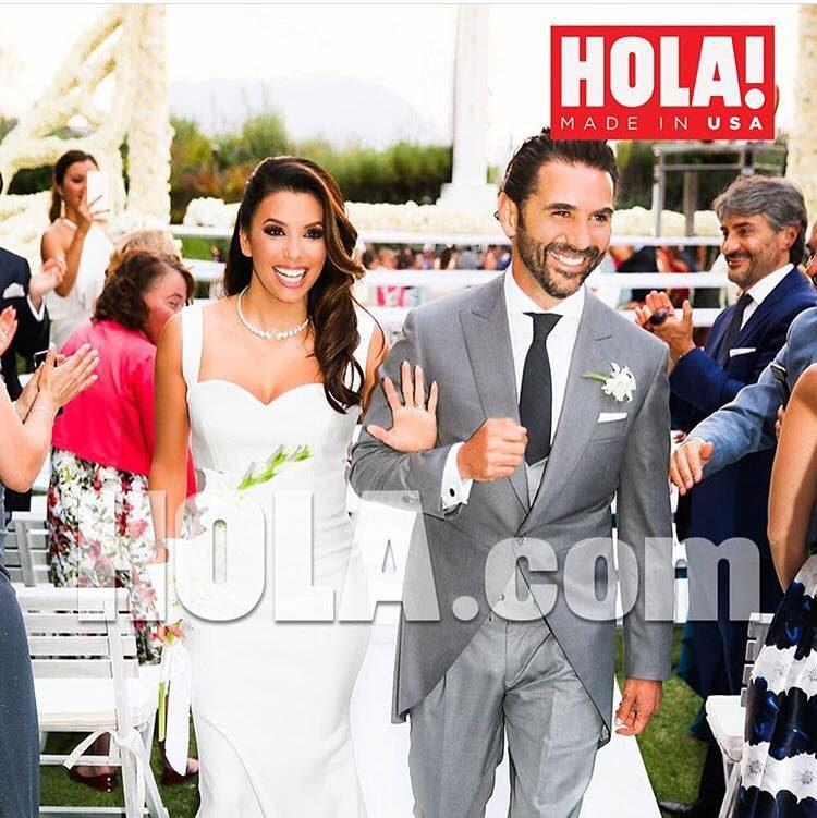 Eva Longoria ha sposato il regista e produttore televisivo José Antonio Baston lo scorso Maggio.