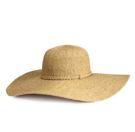 H&M cappello in paglia a tesa larga