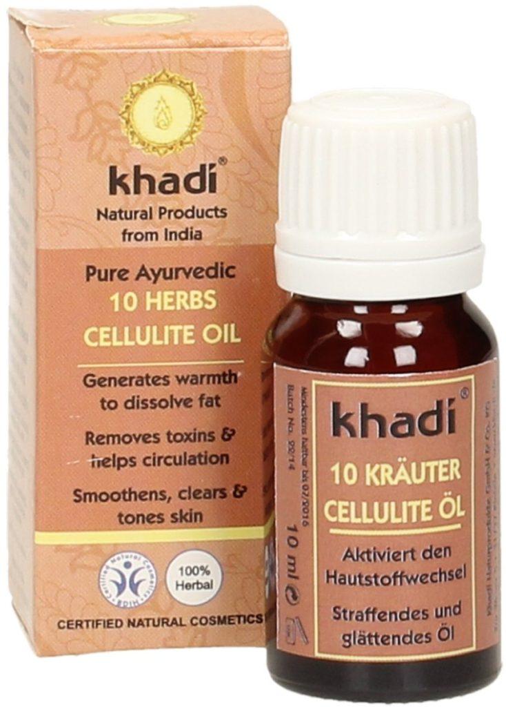 Khadi Olio Anticellulite naturale alle 10 Erbe