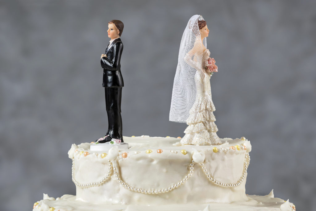 Il bon ton quando si annulla il matrimonio