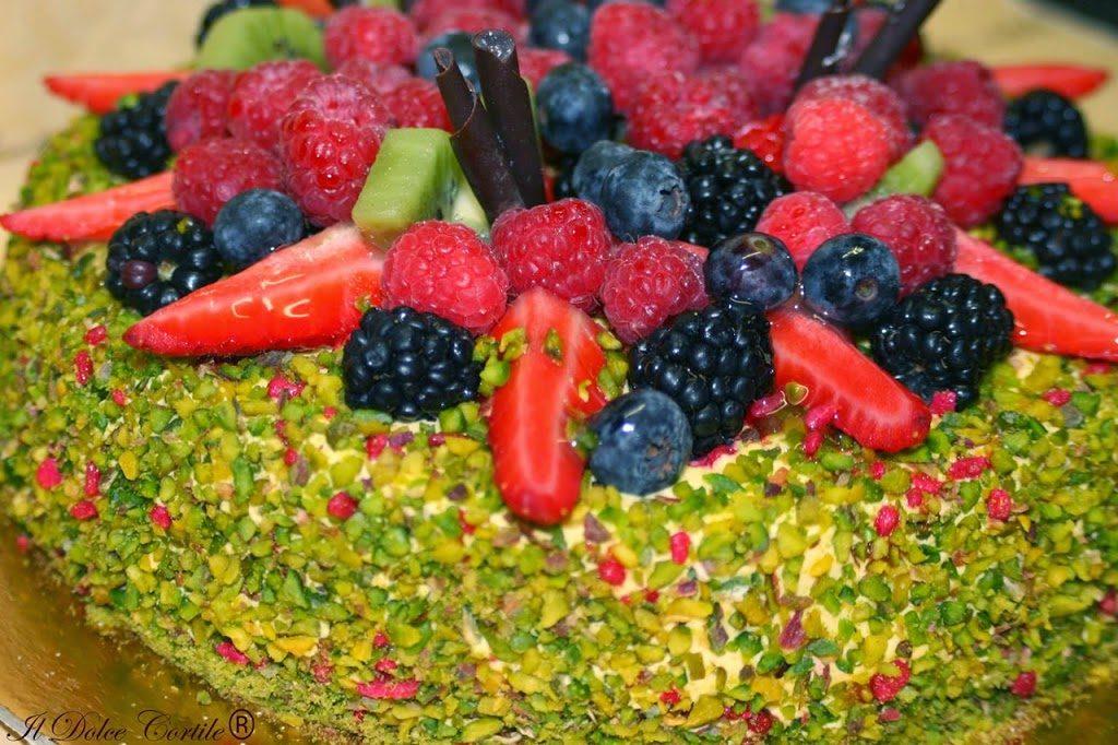 Pistacchi di Bronte e frutta di bosco de il dolce cortile