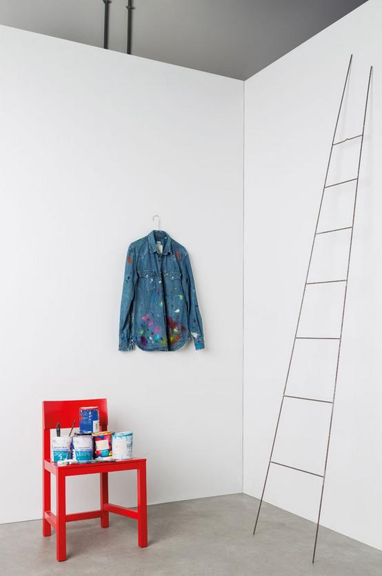 Alberto Aspesi, camicia da lavoro per pitturare i sogni