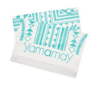 Yamamay telo da spiaggia con decorazioni geometriche
