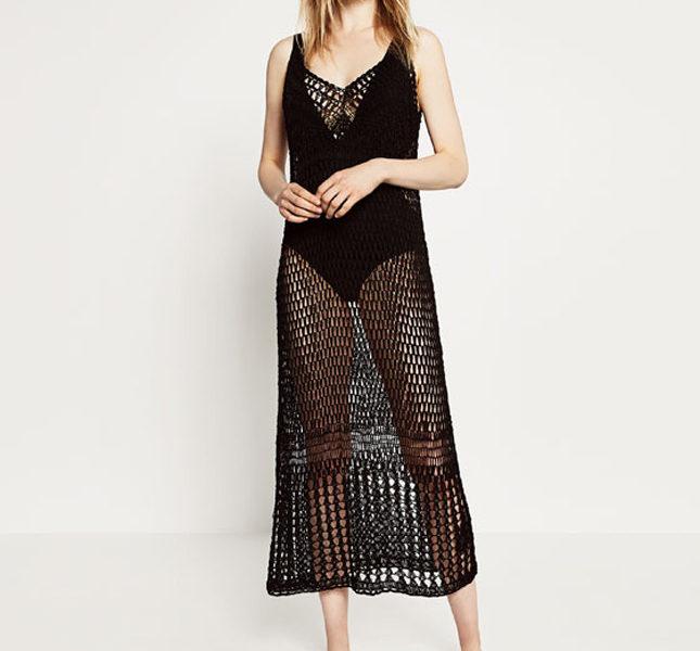 Zara abito lungo nero