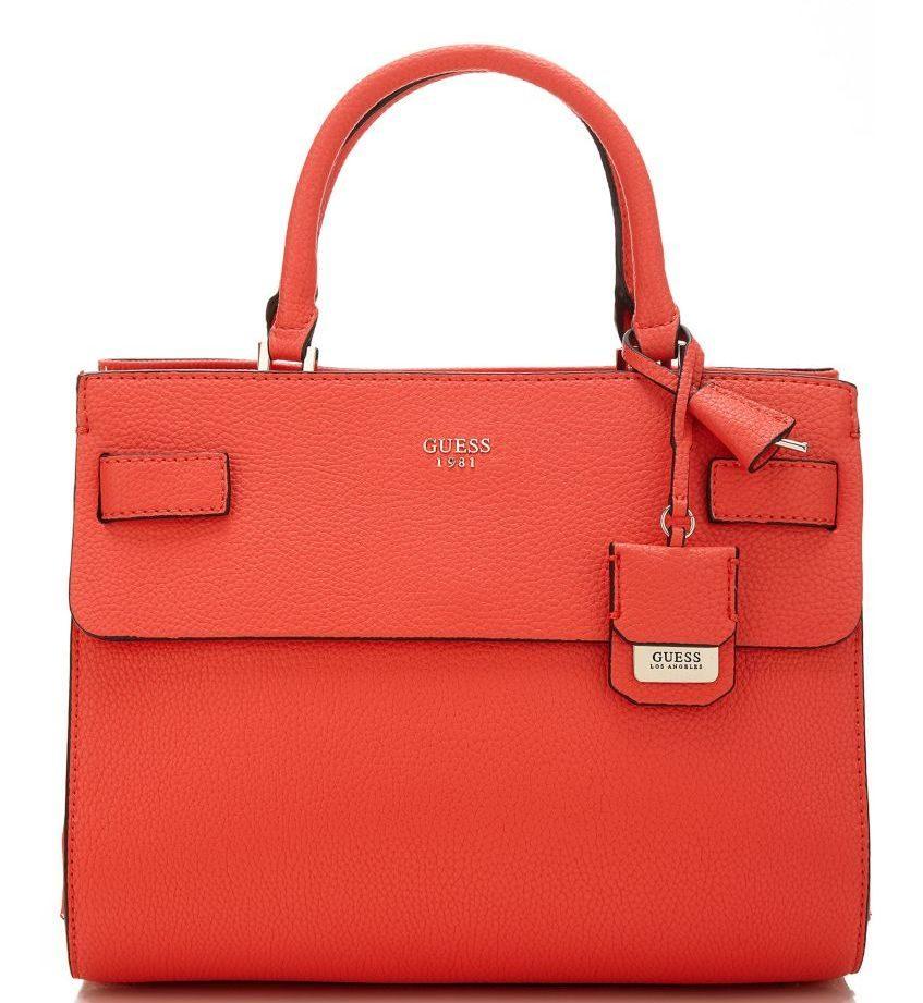 Guess borsa a mano modello Cate rossa