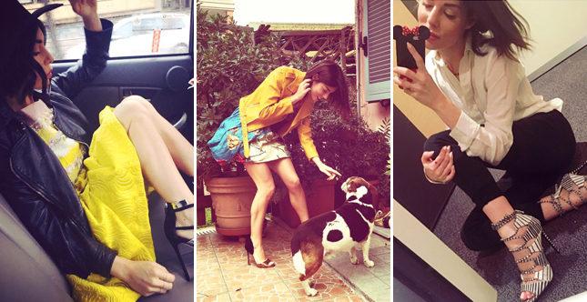 Sexy, rock e frizzante: lo stile di Bianca Atzei è un inno alla giovinezza.