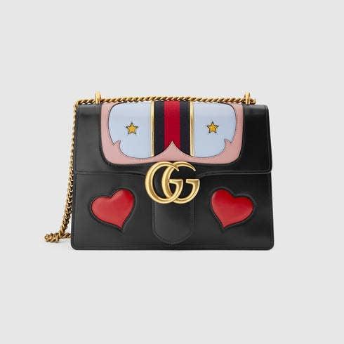 Gucci, borsa GG Marmont in pelle