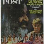 Copertina della rivista inglese POST dedicata al viaggio in India dei Beatles, 4 maggio 1968 copia