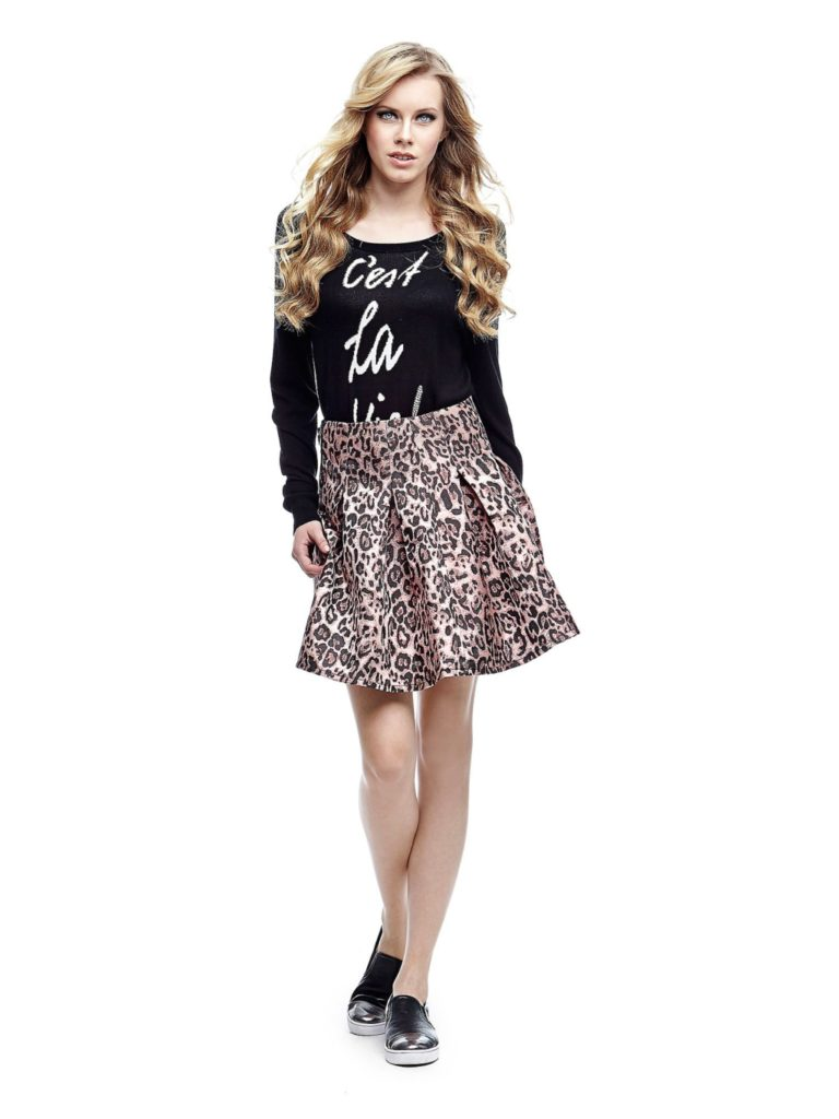 Gonna animalier by Guess.