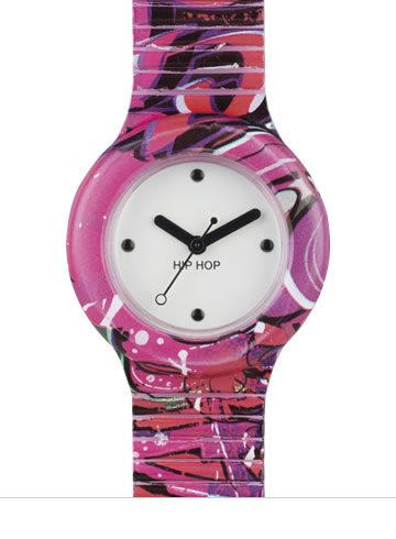 Graffiti fucsia, Hip Hop orologi