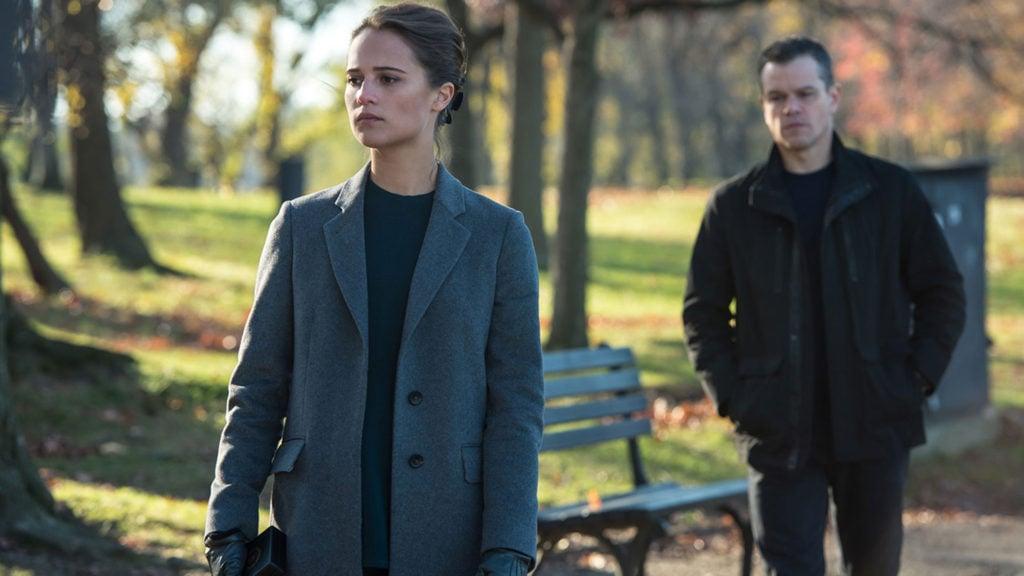 Alicia Vikander e Matt Damon