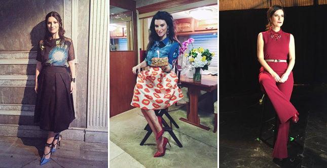 Rock e bon ton, classico e contemporaneo: i look di Laura Pausini sono un perfetto mix di stile!