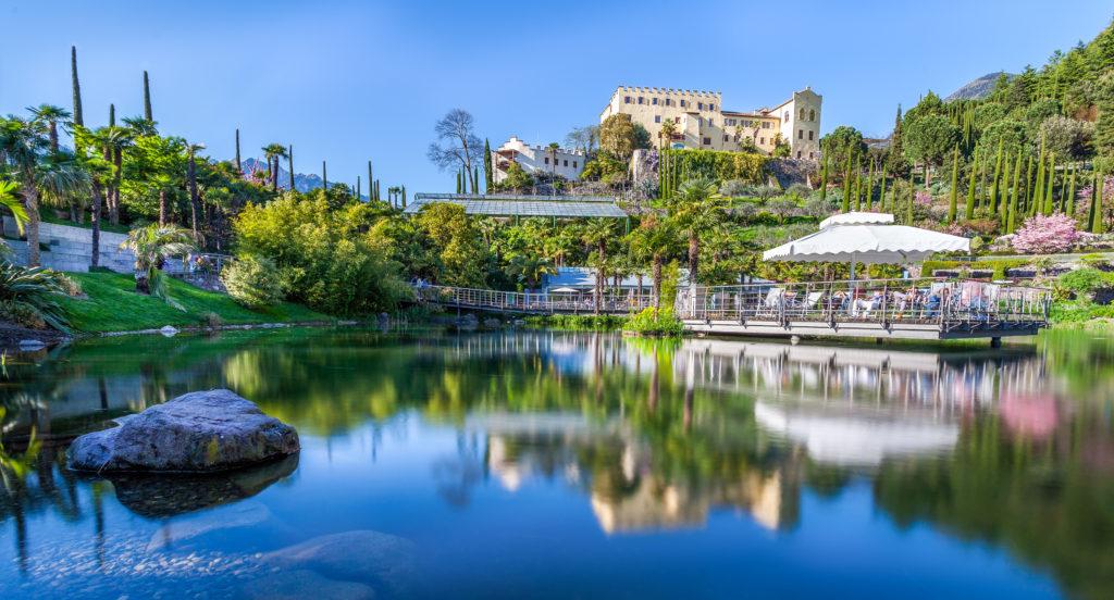 Panorama Giardini di Sissi con Laghetto delle Ninfee