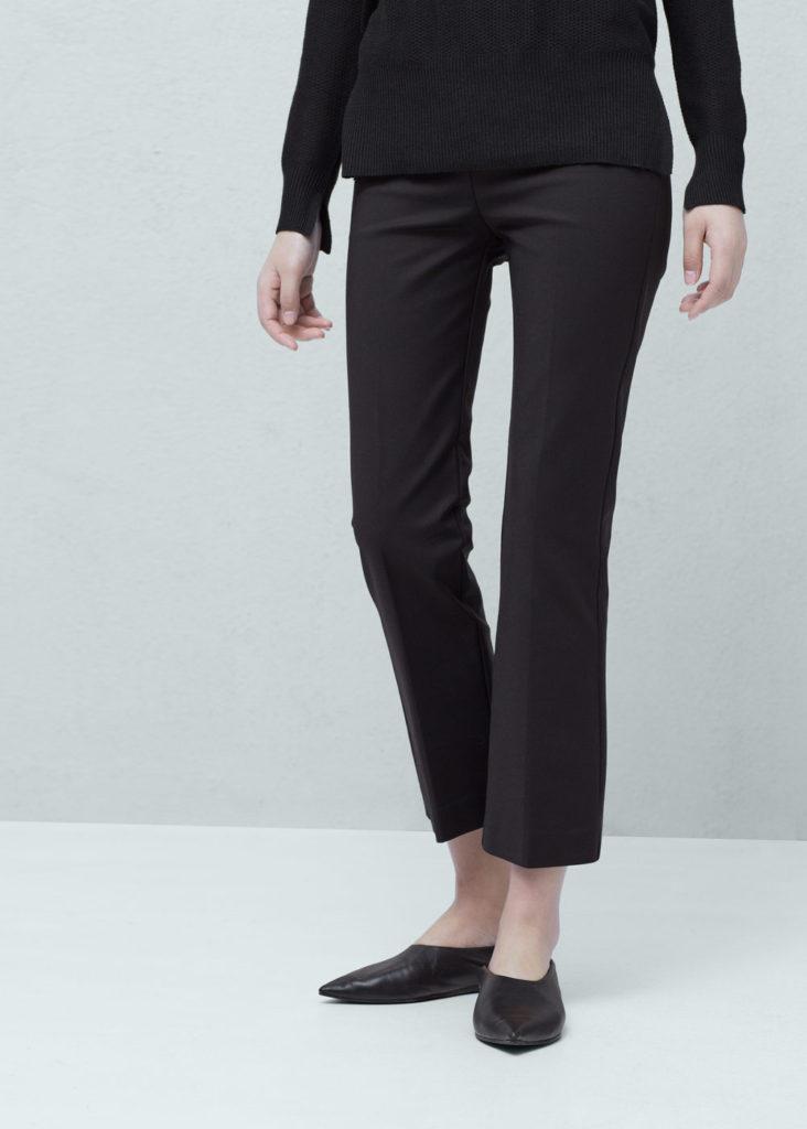 Pantaloni dalla linea asciutta by Mango.