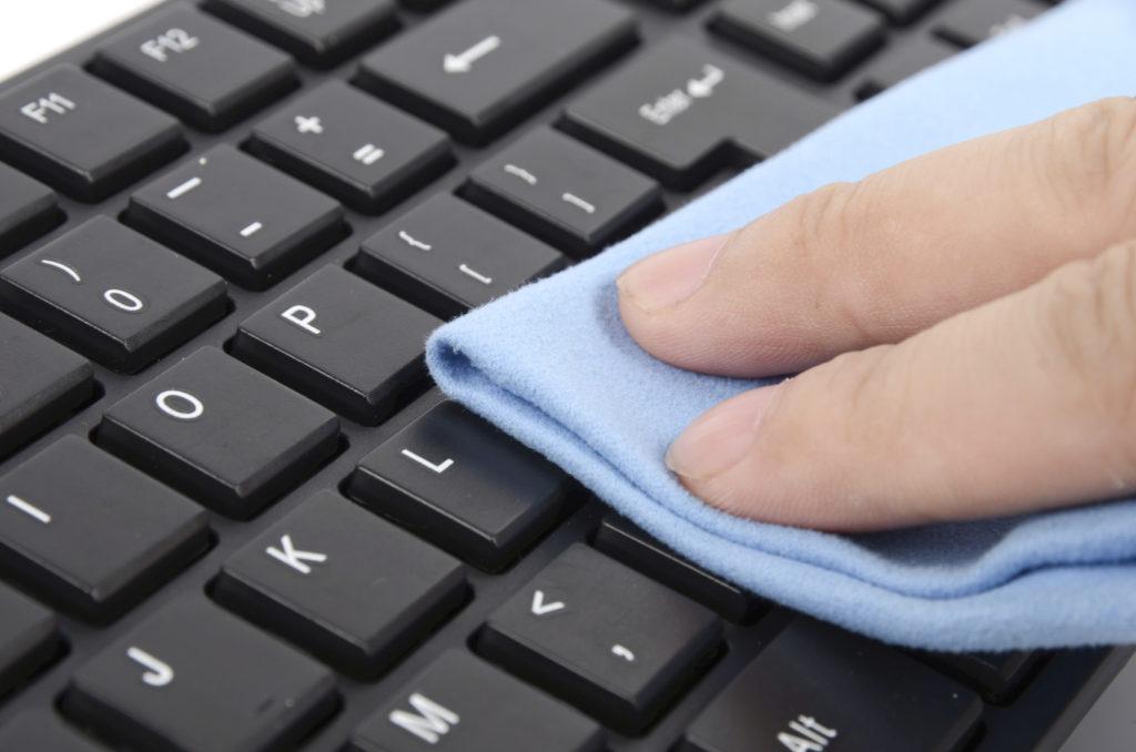 Come pulire la tastiera