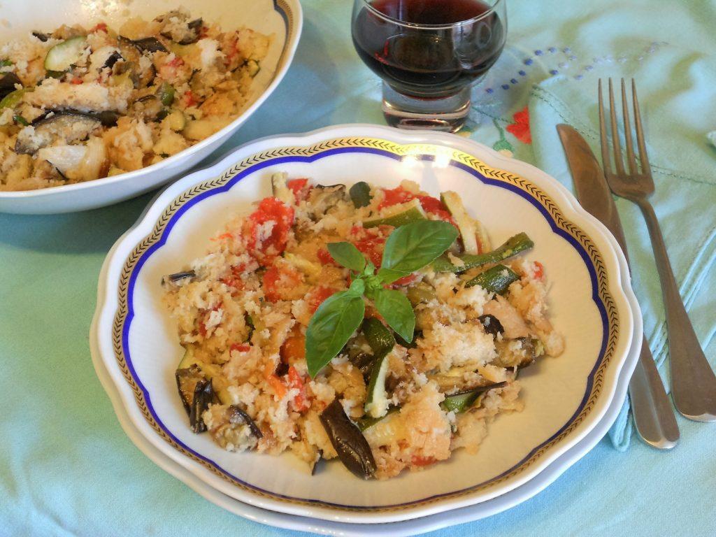 panzanella con verdure grigliate 9