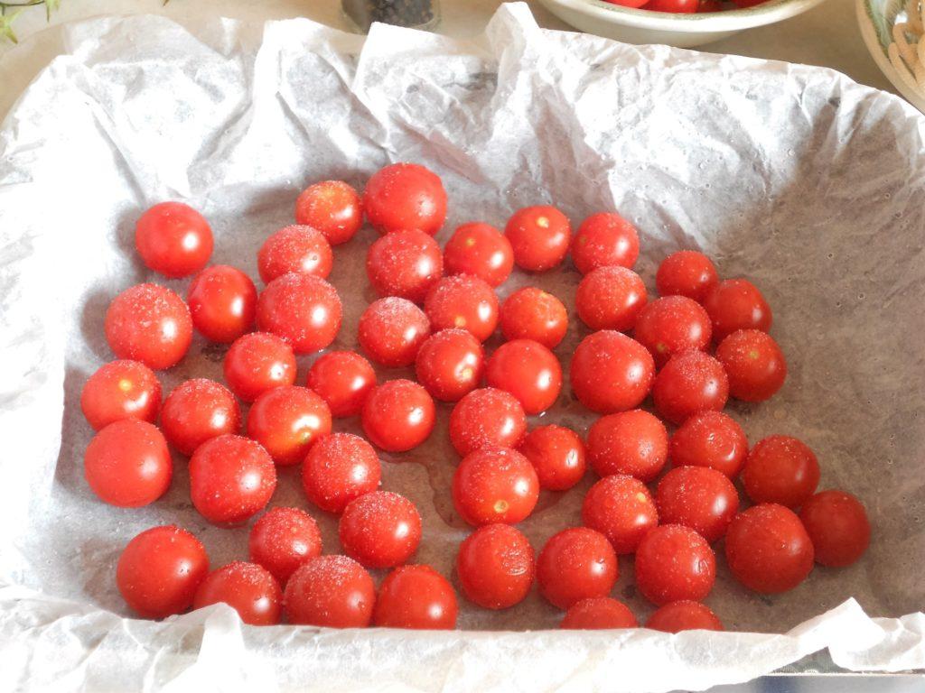 pici toscani con ciliegini gratinati cacio e pepe 3