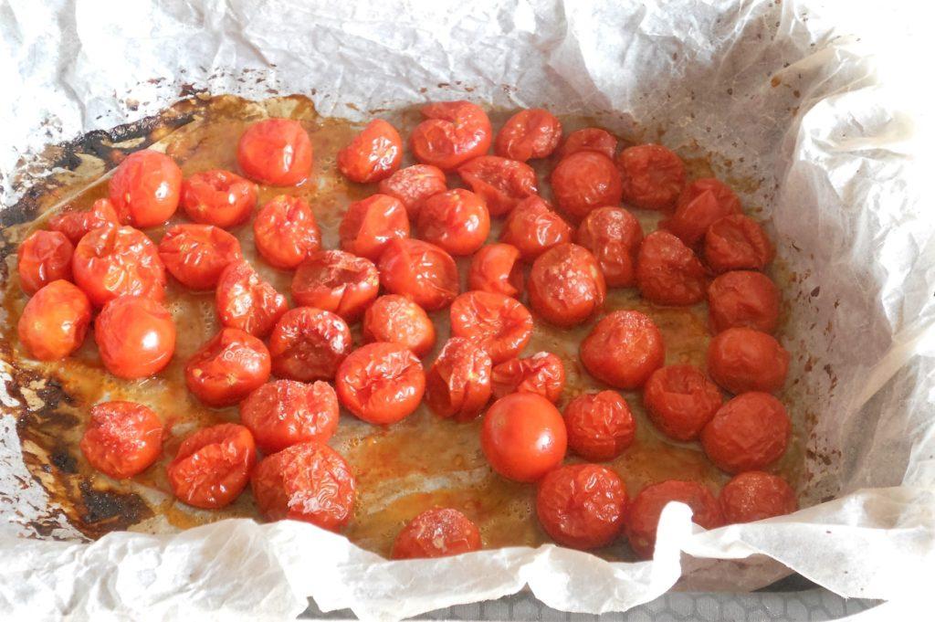 pici toscani con ciliegini gratinati cacio e pepe 4