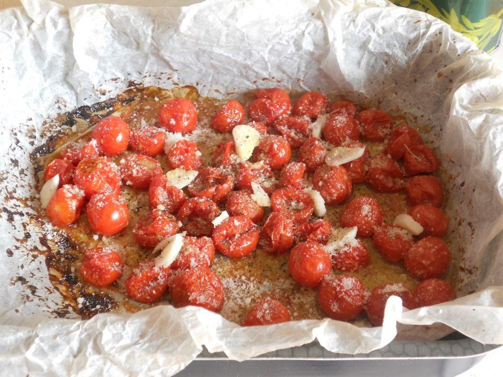 pici toscani con ciliegini gratinati cacio e pepe 6