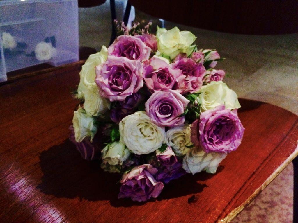 bouquet colorato dalle tonalità del lilla foto di Lisa Boccaccio