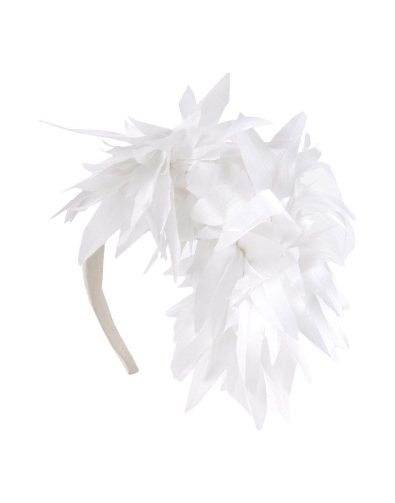 Cappello da cerimonia con piume by Federica Moretti.