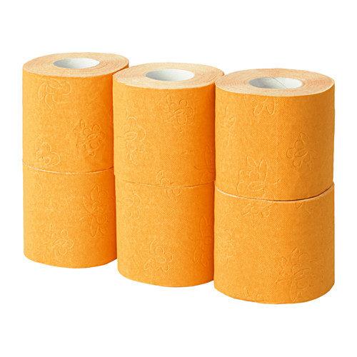 È disponibile in vari colori, per portare anche allegria in bagno.
