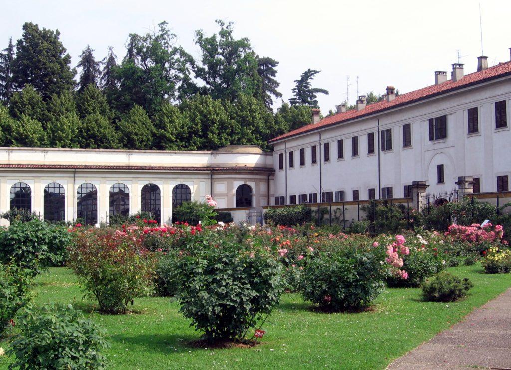 Il Serrone di Villa Reale.