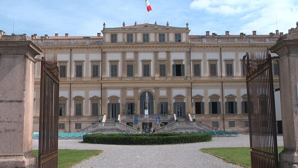 Ingresso principale della Villa.