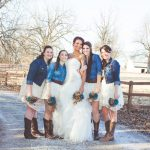 abito per una sposa country