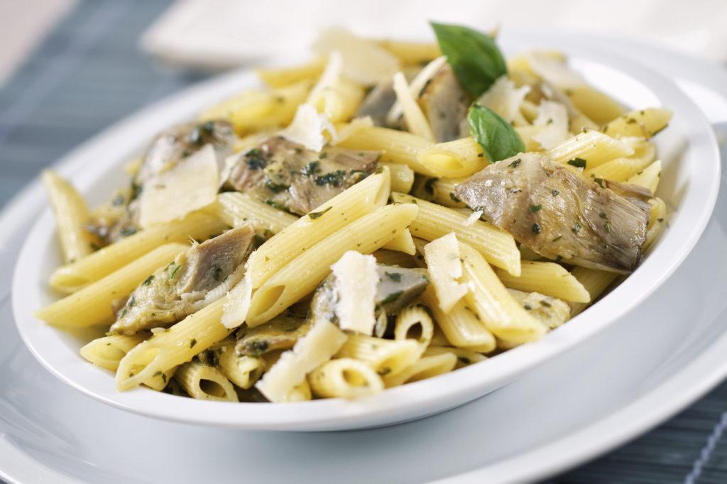 Pasta al Kamut® con carciofi e sedano di Verona