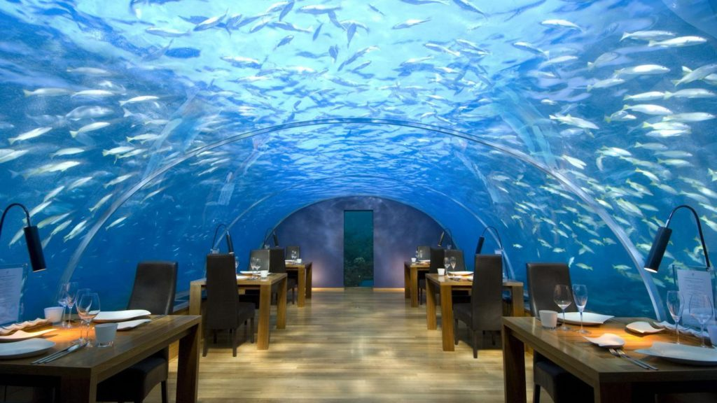 Ristorante Ithaa Maldive.