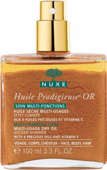 Nuxe huile prodigieuse oro olio secco viso corpo e capelli