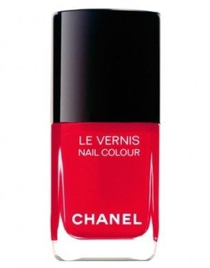 Smalto rosso fuoco - Chanel