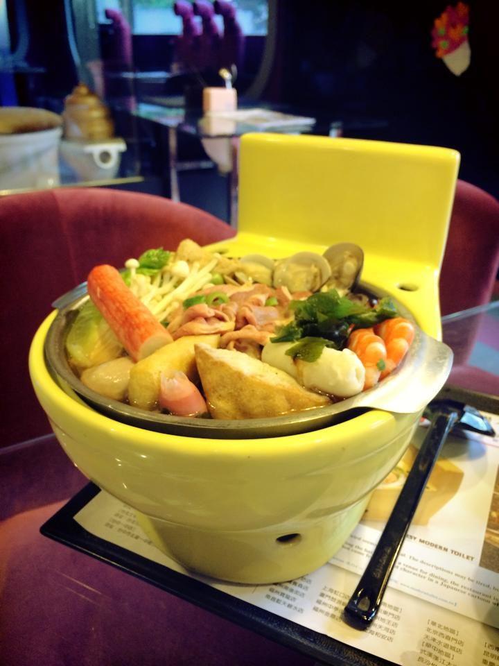 Toilet restaurant Taiwan