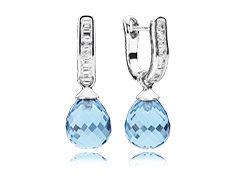 Pandora, orecchino pendente Cristalli di Ghiaccio