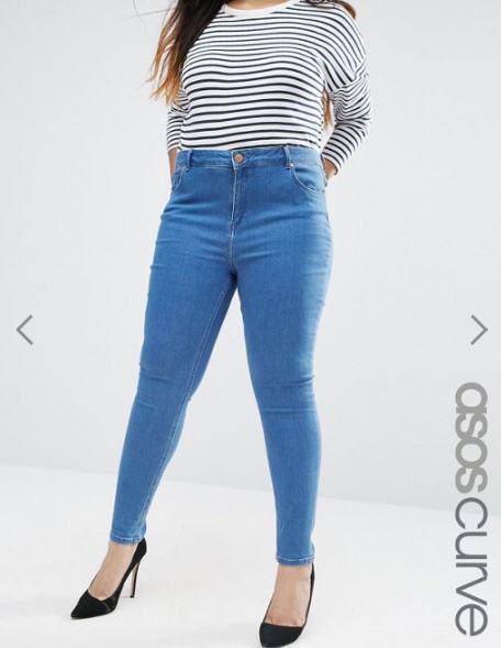 Jeans Lisbon - Asos Curve, 37,99 €