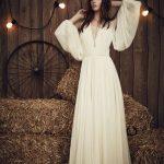 matrimonio celtico abito da sposa