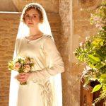 matrimonio celtico abito a sposa Lady Edith Crawley