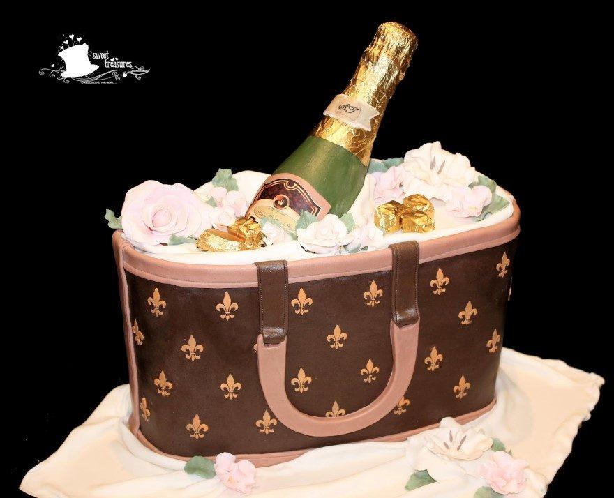 torta spettacolare tema moda