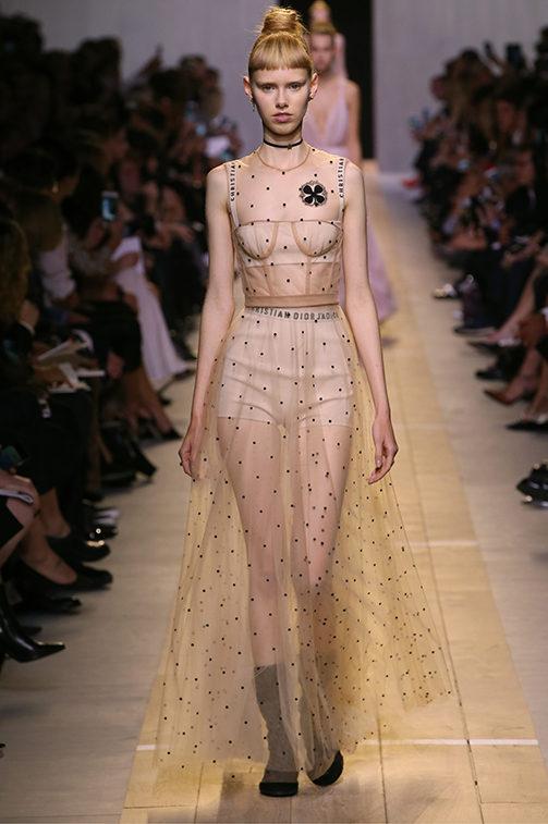 La collezione Dior SS 2017.