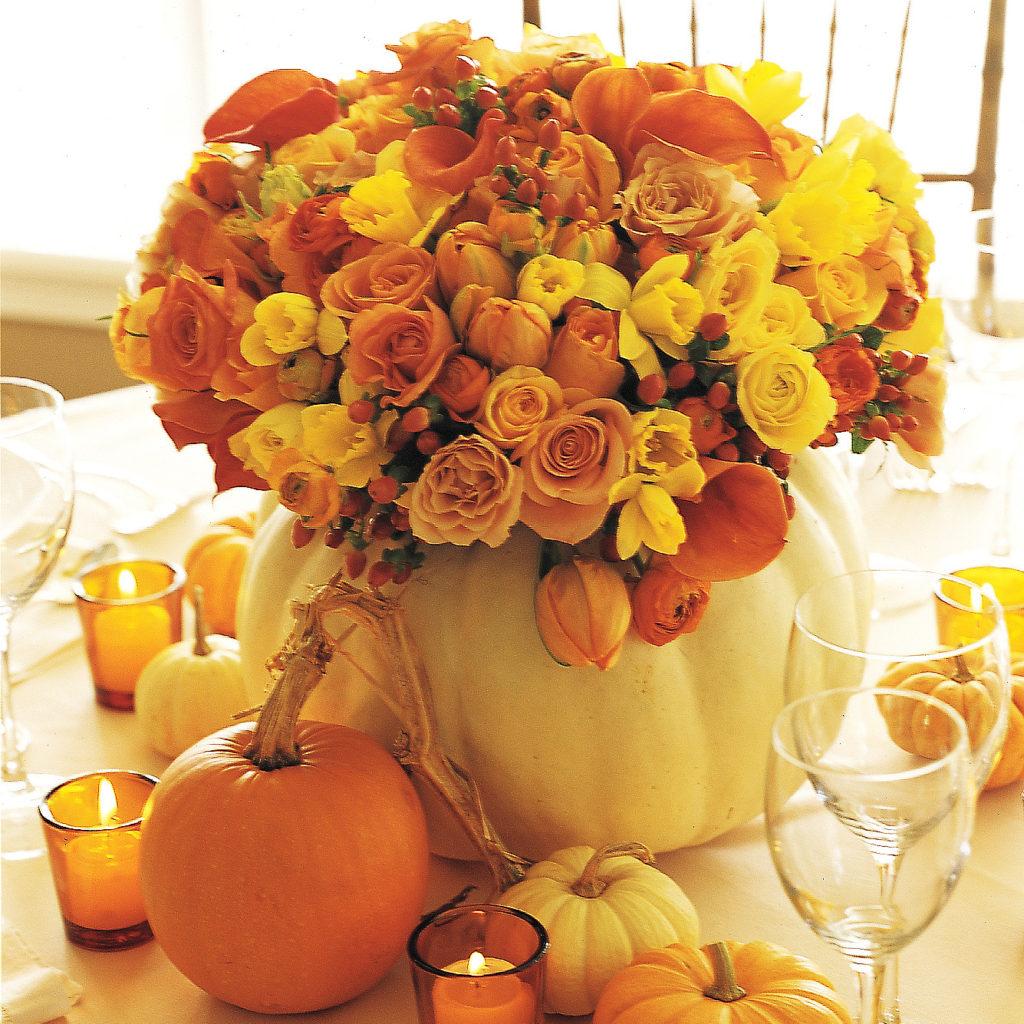 Ispirazione Halloween pantone Flame di martha-stewart-wedding