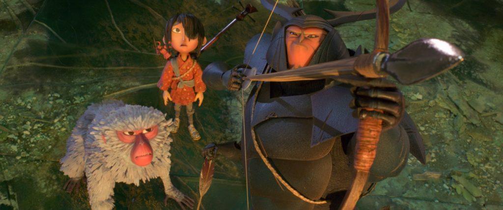 Kubo Scimmia e Scarabeo stanno per affrontare la battaglia - Laika Studios/Focus Features