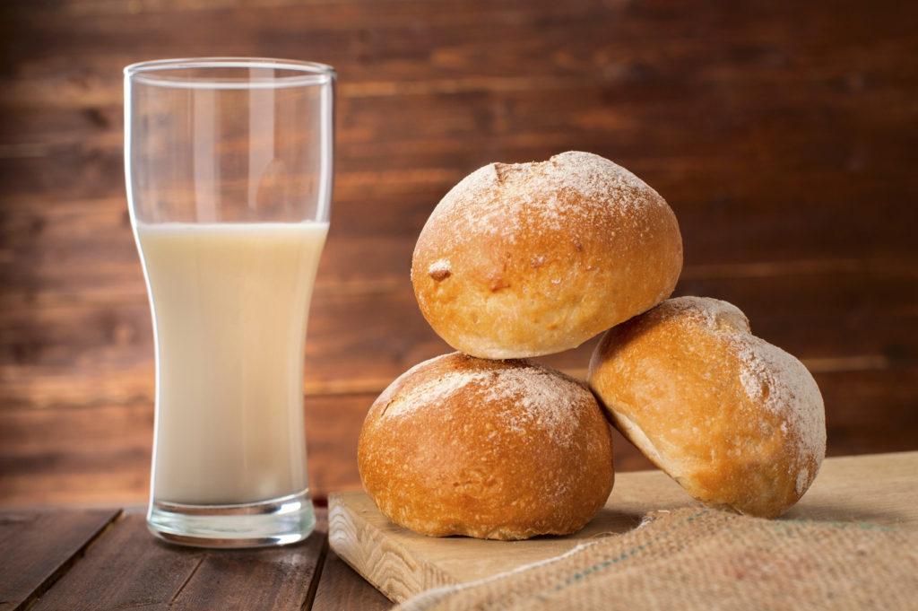 Panini al latte fatti con il Bimby